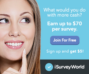 iSurvey World - Free Paid Surveys