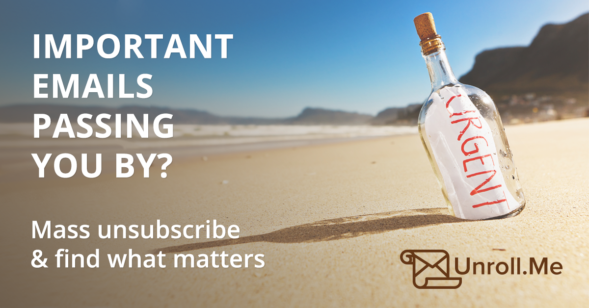 Unsubscribe from unwanted emails